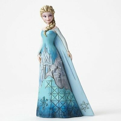 "Elsa Castle Dress ""Fortress of Frost"" Jim Shore Disney Traditions Figurine"