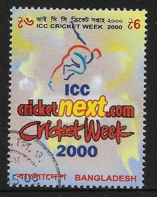 BANGLADESH 2000 ICC CRICKET WEEK 1v Used (No.1)