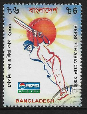 BANGLADESH 2000 PEPSI ASIA CUP CRICKET 1v Used (No.2)