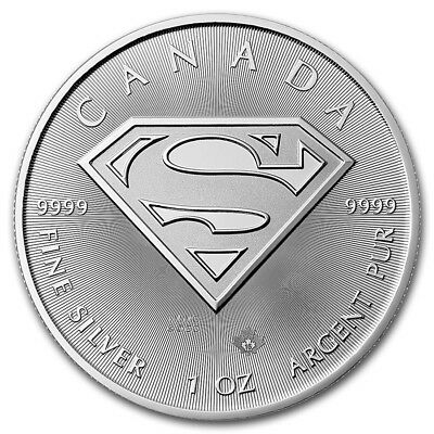 1oz 2016 RCM Superman Minted Coin 9999 Silver
