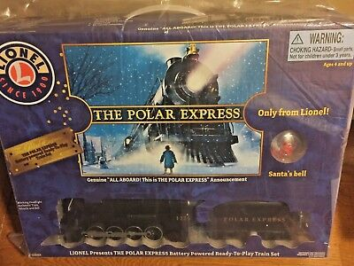 Factory Sealed NEW Lionel Large Scale Polar Express Ready-To-Play Train 7-11803