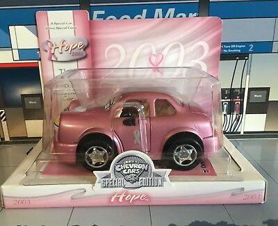 Chevron Cars 2003 ~ Hope ~ Breast Cancer Awareness ~ Nib