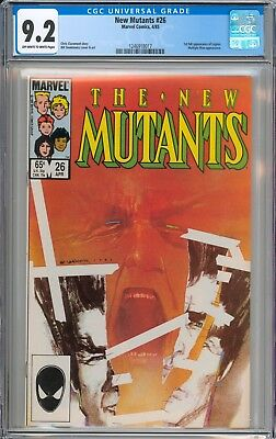 The New Mutants #26 CGC 9.2 NM- 1st Full Appearance of Legion New Case