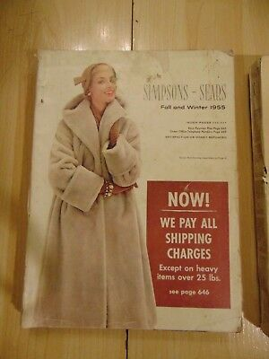 SIMPSON SEARS Fall & Winter 1955 REGINA Catalog Department Store Canada Book