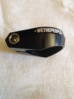WETHEPEOPLE Seat Clamp with Titanium Bolt Ultra Light NEW