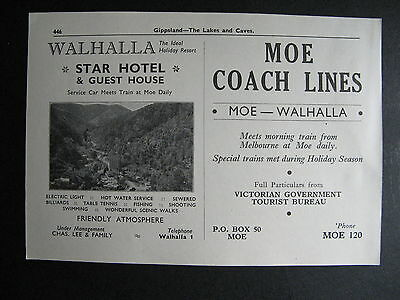 Wahalla Star Hotel  Chas. Lee & Family  Prop. Vintage 1951 Advertising