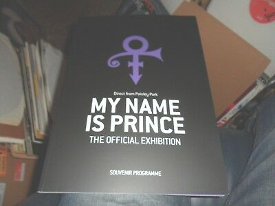 Prince.my Name Is Prince.london Exhibition Programme.new Mint