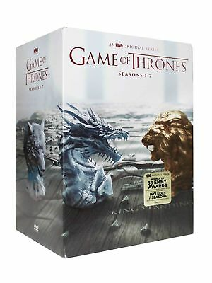 Game of Thrones: The Complete Seasons 1-7 (DVD, 2017, 34 Disc Set)