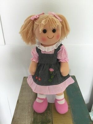 Maddie: Hopscotch Collectibles Rag Doll