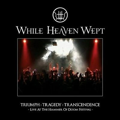 Triumph:Tragedy:Transcendence: Live... by WHILE HEAVEN WEPT (CD+DVD/SEALED 2010)