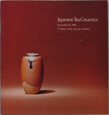 Japanese Tea Ceremony Ceramics Pottery - Sotheby Catalog 1980