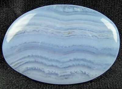 BLUE LACE AGATE  Palm Stone - Calming to Mind & Emotions