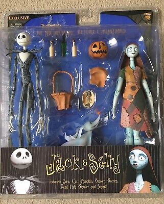 nightmare before christmas figures Rare NECA set