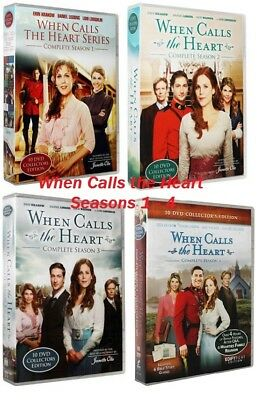 When Calls the Heart: Complete Series Seasons 1 2 3 4 40 Disc Collectors Edition