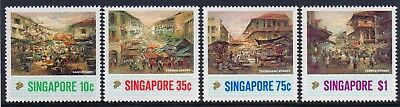 Singapore 1989 Paintings set  fine fresh MNH