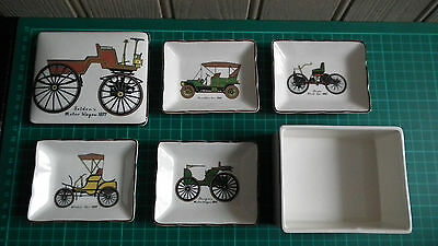 Vintage Sandland Ware Countess Set - Automobiles - Boxed / Excellent Condition