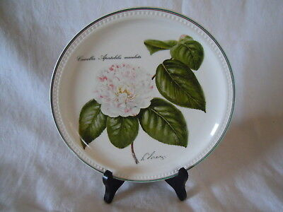1993 Assiette Collection Villeroy & Boch Luxembourg Camelia Apertabilis Maculata