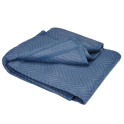 "Moving Blanket Professional Quilted Pads 72"" x 80"" Furniture Protection Padded"