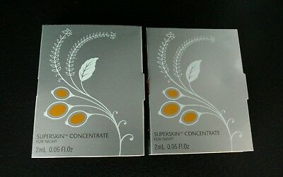 LIZ EARLE  2 x 2ml SUPERSKIN CONCENTRATE NEW SEALED.TRAVEL