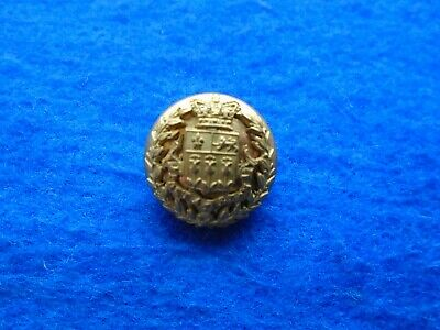 1 X Victorian Eton College Rifle Corps Otc Officer Training Corps 20Mm Button