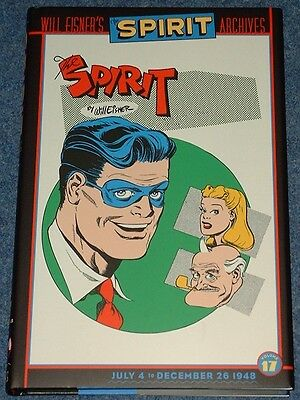 THE SPIRIT ARCHIVES Volume 17 - Classic Will Eisner Newspaper Strips DC Comics
