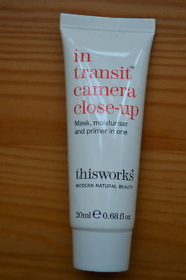 Sealed Thisworks In transit camera closeup mask moisturiser & primer in one 20ml