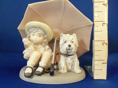 """Kim Anderson Figurine """"Friendship is a Gift to Share"""" #324140 (c)1997 No Box VGC"""