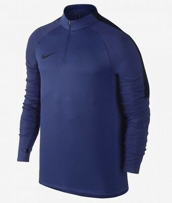 Nike Sportswear Dry 1/4 Zip Drill Training Top Size Small 807063-455