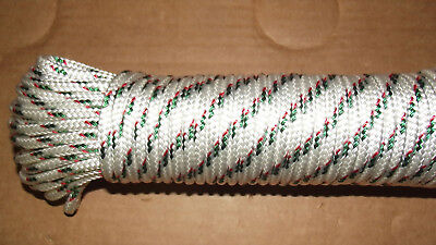 "NEW 3/16"" (5mm) x 127' Sail/Halyard Line, Jibsheets, Boat Rope"
