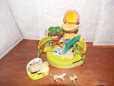 RARE Disney Lion King Pride Rock figure toy with figures Simba Bluebird Polly