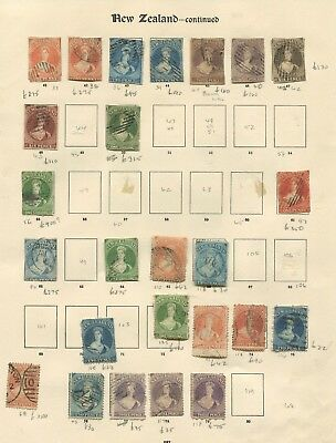 New Zealand Chalon heads collection