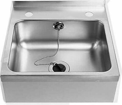 Stainless Steel Hand Wash Basin Sink for Commercial Kitchen Restaurant/Pub/Hotel
