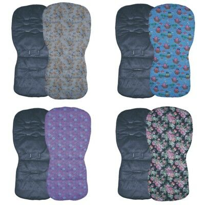 Black Designs - Seat Liners to fit SX Reflex, Pop & Zest pushchairs - Reversible