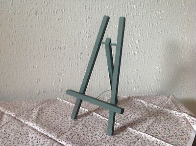 Olive Green ( Matt) Wooden Easel, Picture/ Book/ I Pad Stand.Hand Made