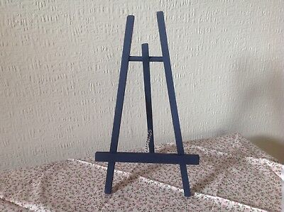 Sailor's Blue ( Matt) Wooden Easel, Stable Picture/ Book/ I Pad Stand.Hand Made