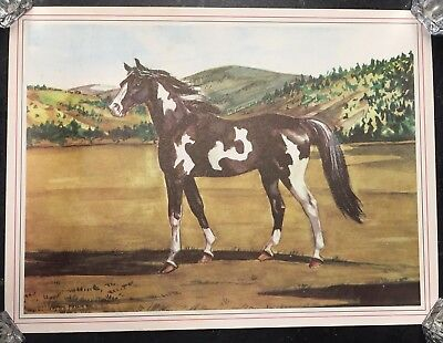 "Lot of 3 - Vintage Jeanne Mellin Horse Prints (1949) - 12""x9"""