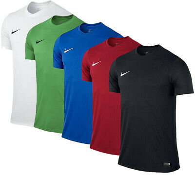 Nike Kinder Fußball Sport Fitness Freizeit Trainings Dri Fit T-Shirt Park 725984