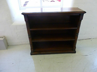 Designer Burlington Acacia open bookcase
