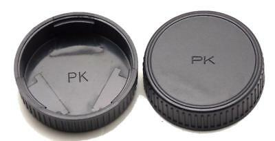 10 PENTAX K REAR Twist On LENS CAP K Mount Lenses  NEW