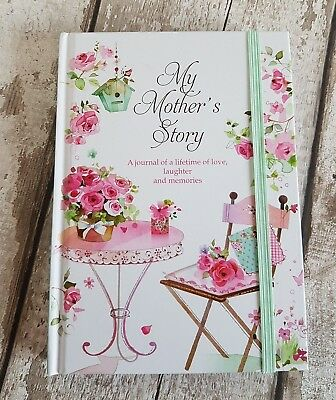 Gorgeous MY MOTHER'S STORY Journal Memory Keepsake Record Diary Book Mothers Day