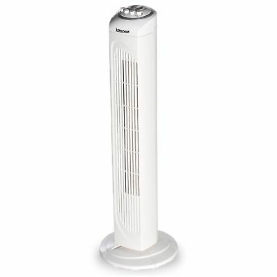 """Igenix DF0030 Oscillating Tower Fan with 2 Hour Timer, 30"""" 76cm - White"""