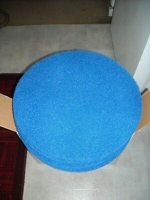 "Glit Blue Floor Buffing Pads 17"" Lot of 5"