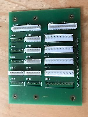 Genesis Control Board Go 127/137 Combo Vending Machine Part,tested