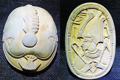 ANCIENT EGYPT EGYPTIAN ANTIQUE Scarab Beetle Khepri Sculpture 3200-3100 BC