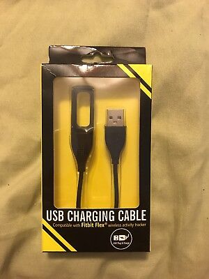 New Replacement USB Charger Fitbit Flex Tracker Wristband Charging Cable Cord
