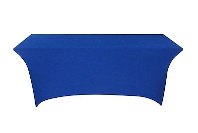 Tina 4 ft. Rectangular Banquet Table Cover Spandex Fitted Stretch Tablecloth