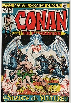 Conan the Barbarian #22 VF- 1973 Marvel Comics Barry Windsor Smith High-Grade