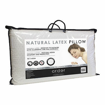 NEW Ardor Standard Natural Latex Pillow - Ardor,Pillows