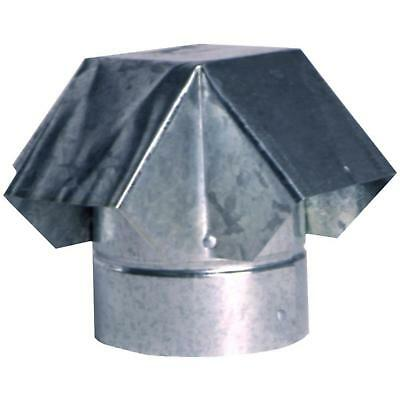 4 in Steel Roof Pipe Vent Cap Debris Weather Protection Rooftop Venting Part NEW