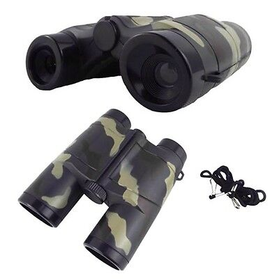 4X 35mm Camouflage Children Gift Portable Plastic Bin OCular Telescope Toy OC
